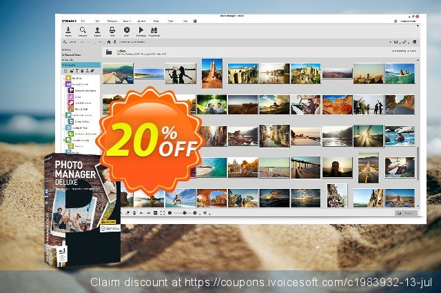 MAGIX Photo Manager Deluxe discount 20% OFF, 2020 Back to School shopping promo sales