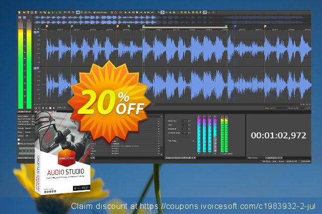 MAGIX SOUND FORGE Audio Studio 13  특별한   할인  스크린 샷