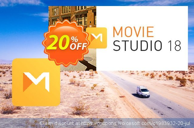 VEGAS Movie Studio 17 discount 20% OFF, 2021 Mother Day offering sales. 30% OFF VEGAS Movie Studio 16 2021