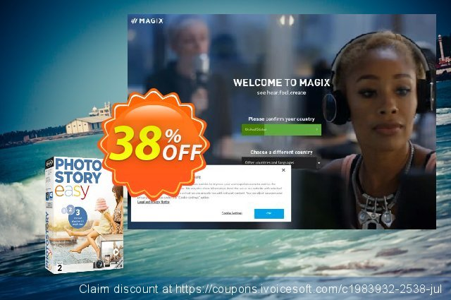 MAGIX Photostory easy discount 38% OFF, 2021 Library Lovers Month promo