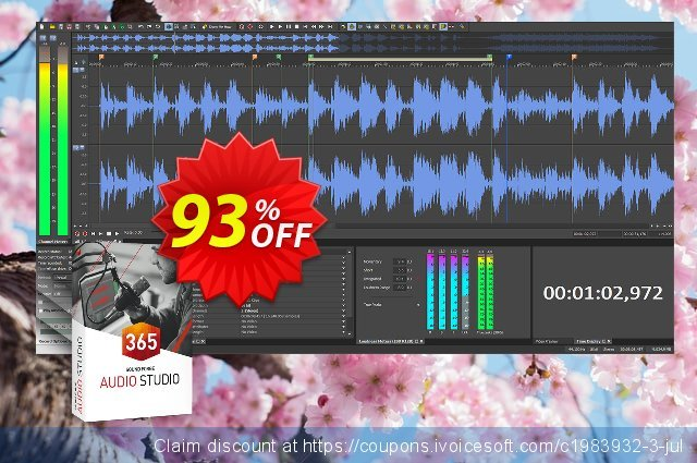 MAGIX SOUND FORGE Audio Studio 365 独占 交易 软件截图