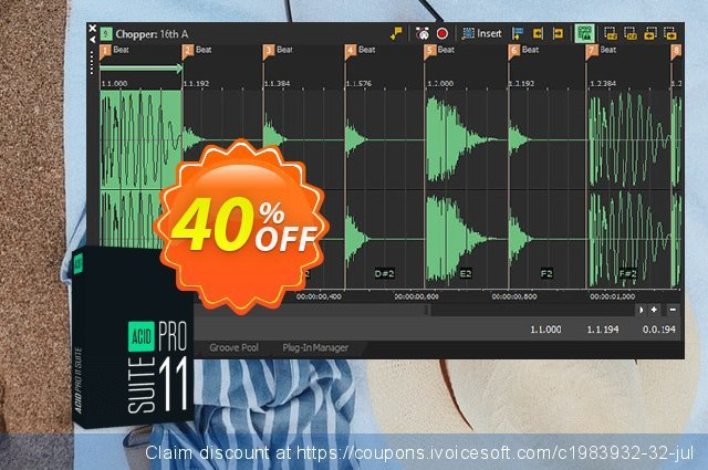 ACID Pro 10 Suite discount 20% OFF, 2020 Back-to-School promotions promo sales