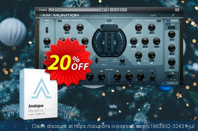 MAGIX Analogue Modelling Suite Plus discount 20% OFF, 2021 Labour Day offering sales