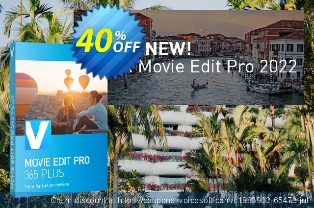 MAGIX Movie Edit Pro Plus discount 73% OFF, 2019 Thanksgiving Day offering sales