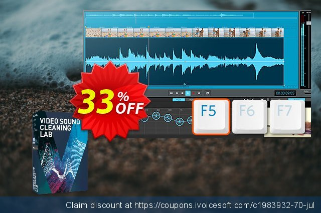 MAGIX Video Sound Cleaning Lab discount 33% OFF, 2021 Mother Day offering discount. 33% OFF MAGIX Video Sound Cleaning Lab, verified