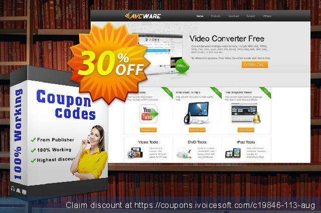 AVCWare DVD to Pocket PC Ripper 6 discount 30% OFF, 2021 Spring offering discount