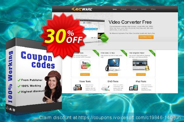 AVCWare iPhone Transfer for Mac discount 30% OFF, 2021 New Year's Weekend offering sales