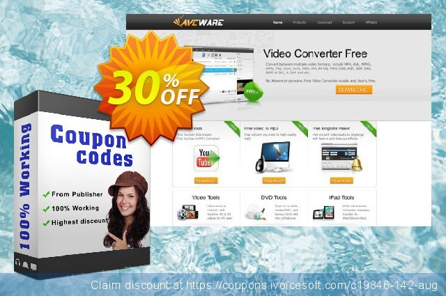 AVCWare iPod Magic for Mac discount 30% OFF, 2020 4th of July deals