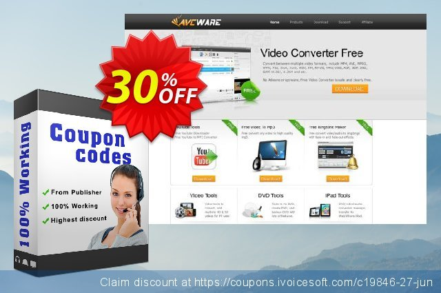 AVCWare Blu-ray Ripper discount 30% OFF, 2020 Student deals promo