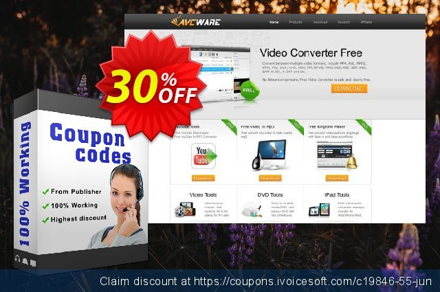 AVCWare HD Converter 6 discount 30% OFF, 2020 Halloween promotions