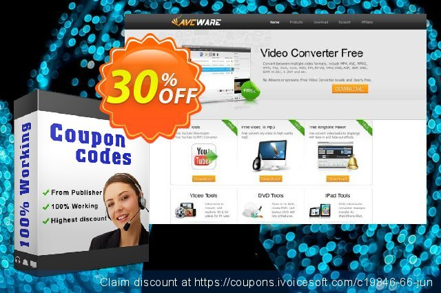 AVCWare ASF Converter 6 discount 30% OFF, 2020 Halloween offering sales