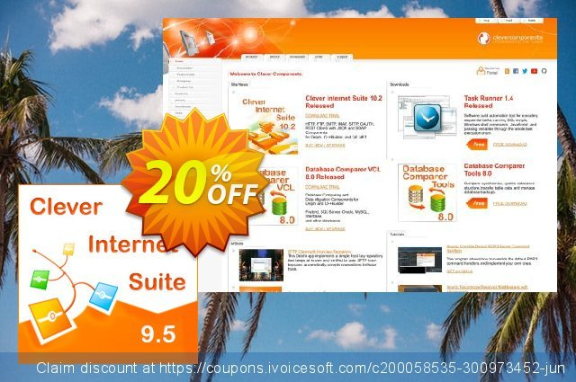 Clever Internet Suite Company License discount 20% OFF, 2020 Working Day offering sales