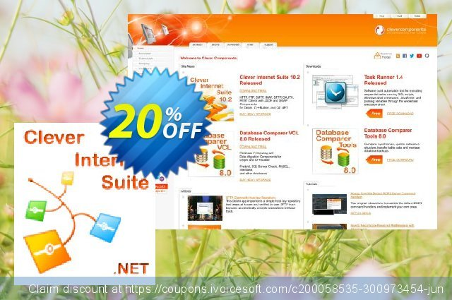 Clever Internet .NET Suite Company License discount 20% OFF, 2021 Spring offering sales