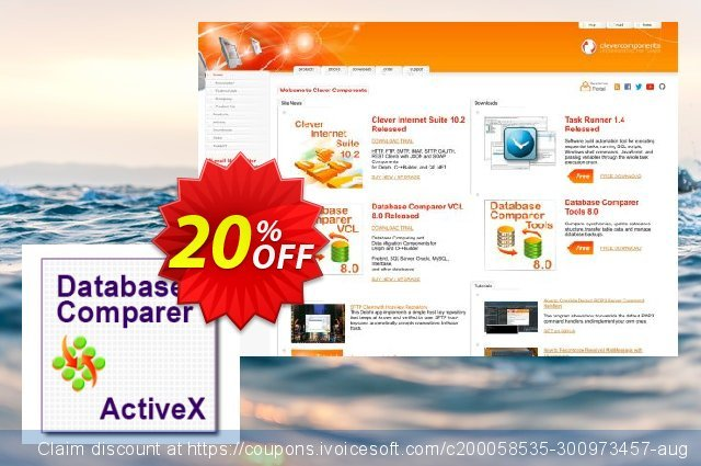 Database Comparer ActiveX discount 20% OFF, 2021 Happy New Year offering sales