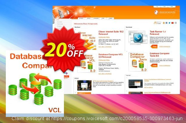 Database Comparer VCL Company License discount 20% OFF, 2021 New Year's Day promotions