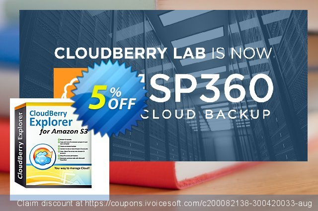 CloudBerry Explorer (annual maintenance) discount 5% OFF, 2020 Halloween offering sales