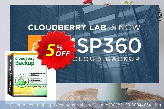 CloudBerry Backup for MS SQL Server NR discount 5% OFF, 2020 Halloween offering sales