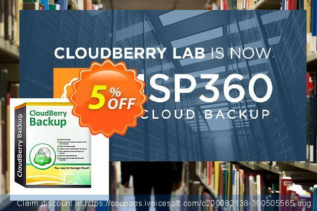 MSP360 Backup Ultimate Edition - annual maintenance discount 5% OFF, 2020 Halloween promotions