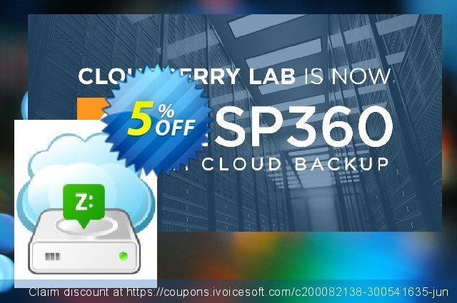 CloudBerry Drive Server Edition NR discount 5% OFF, 2020 Halloween promo sales