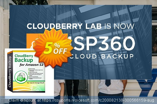 CloudBerry Drive Server Edition (annual maintenance) discount 5% OFF, 2020 Halloween offer