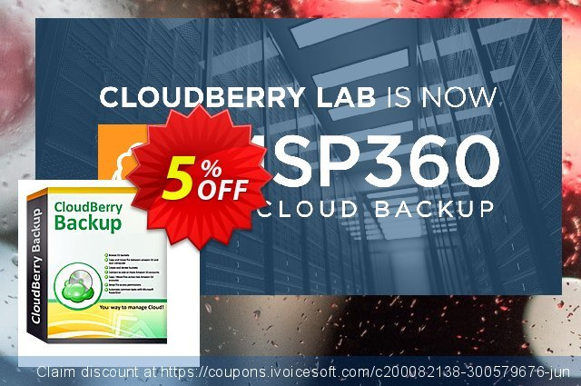 CloudBerry Backup for MS SQL Server - annual maintenance discount 5% OFF, 2020 Halloween offering sales