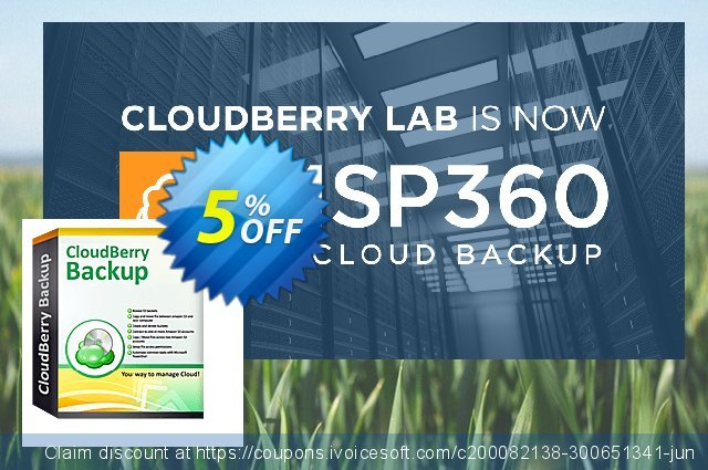 CloudBerry Backup VM (1 additional socket) NR discount 5% OFF, 2020 Halloween promo sales