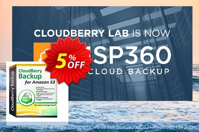 CloudBerry Backup VM Edition - annual maintenance 可怕的 促销 软件截图