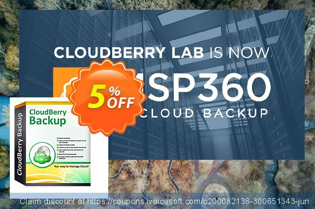 CloudBerry Backup VM (1 additional socket) - annual maintenance discount 5% OFF, 2020 Halloween offering sales