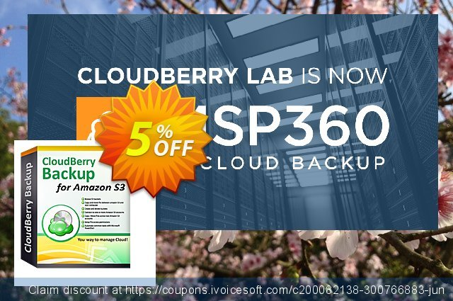 CloudBerry Backup for Linux Personal Edition - annual maintenance discount 5% OFF, 2020 Halloween offering sales