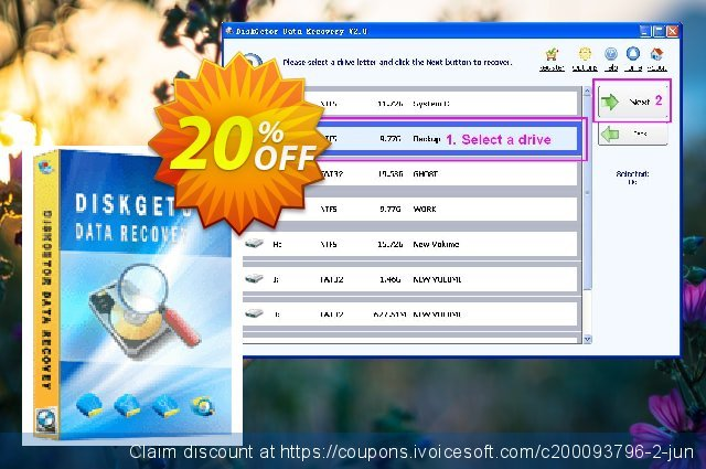 DiskGetor Data Recovery (Unlimited License)  특별한   제공  스크린 샷