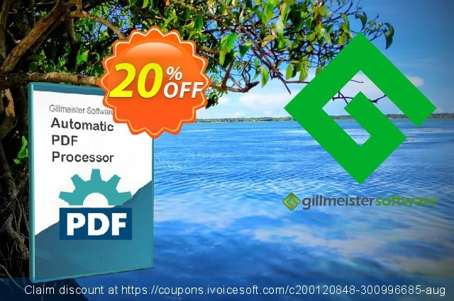Automatic PDF Processor - 100-user license (1 year) discount 20% OFF, 2021 National Savings Day sales. Coupon code Automatic PDF Processor - 100-user license (1 year)