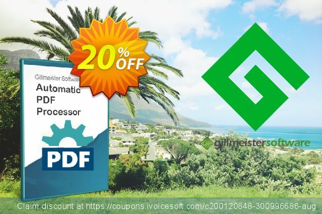 Automatic PDF Processor - Site license (1 year) discount 20% OFF, 2021 National No Bra Day deals. Coupon code Automatic PDF Processor - Site license (1 year)