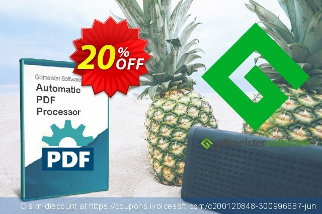 Automatic PDF Processor - Enterprise license (1 year) discount 20% OFF, 2021 Handwashing Day offer. Coupon code Automatic PDF Processor - Enterprise license (1 year)