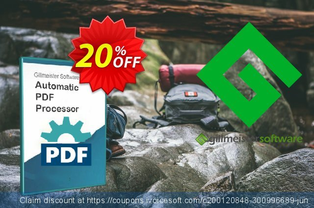 Automatic PDF Processor - 5-user license (3 years) discount 20% OFF, 2021 Magic Day offering discount. Coupon code Automatic PDF Processor - 5-user license (3 years)