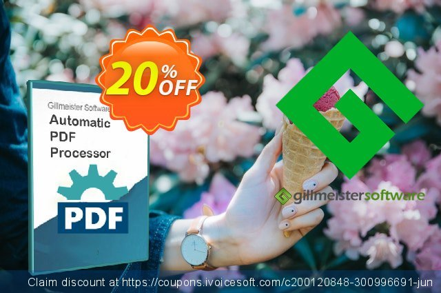 Automatic PDF Processor - 25-user license (3 years) discount 20% OFF, 2021 All Hallows' evening offering deals. Coupon code Automatic PDF Processor - 25-user license (3 years)
