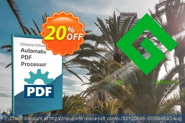 Automatic PDF Processor - 100-user license (3 years) discount 20% OFF, 2021 All Hallows' Eve promo sales. Coupon code Automatic PDF Processor - 100-user license (3 years)