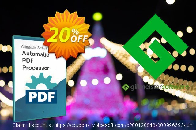 Automatic PDF Processor - Site license (3 years) discount 20% OFF, 2021 Halloween promo. Coupon code Automatic PDF Processor - Site license (3 years)