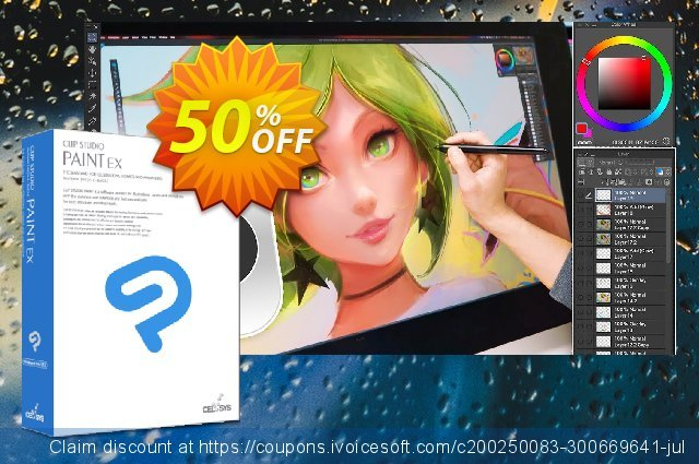Clip Studio Paint EX (Español) discount 50% OFF, 2021 Talk Like a Pirate Day offering sales. 50% OFF Clip Studio Paint EX (Español), verified