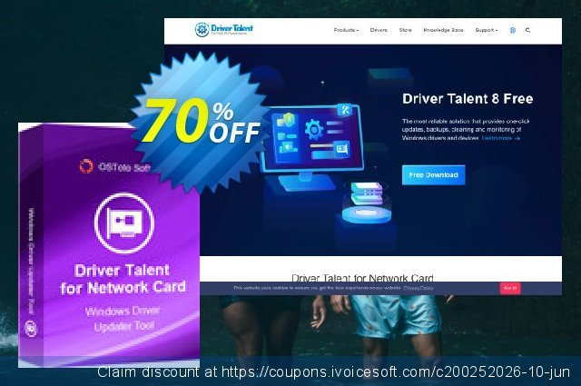 Driver Talent for Network Card Pro (5 PCs / Lifetime)  훌륭하   프로모션  스크린 샷