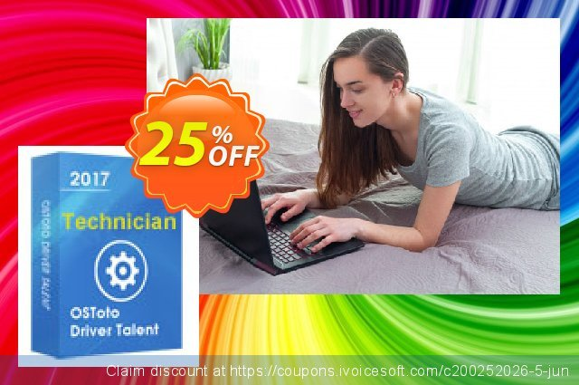 Driver Talent Technician for 100 PCs discount 25% OFF, 2020 Halloween offering sales
