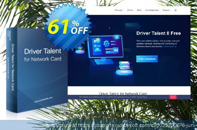 Driver Talent for Network Card Pro  위대하   촉진  스크린 샷