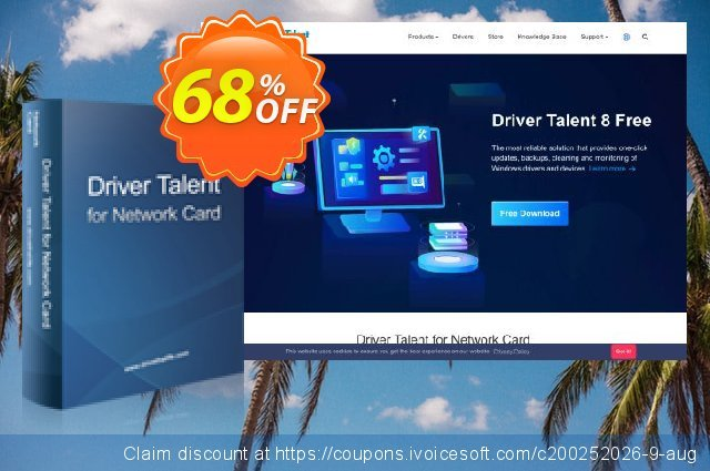 Driver Talent for Network Card Pro (3 PCs / Lifetime) discount 68% OFF, 2021 Mother's Day offering sales. 61% OFF Driver Talent for Network Card Pro, verified