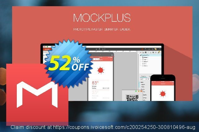 Mockplus Individual Annual Billing discount 52% OFF, 2021 Immigrants Day promo. Coupon code Mockplus Individual Annual Billing