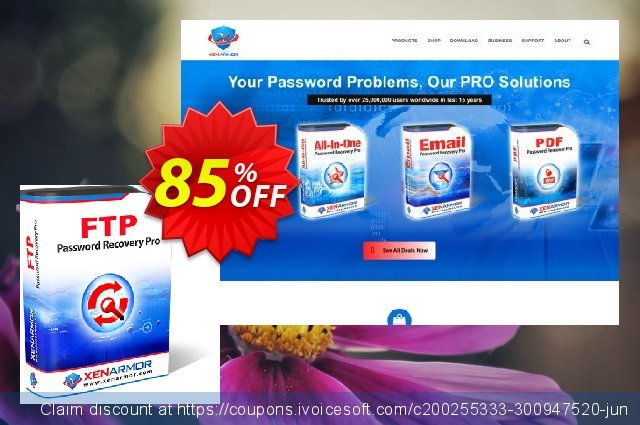 XenArmor FTP Password Recovery Pro discount 85% OFF, 2021 New Year offering sales