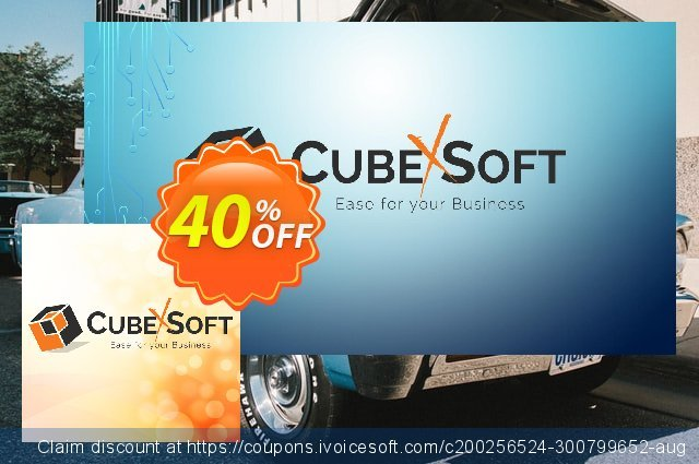 CubexSoft DXL to PDF - Enterprise License Offer discount 40% OFF, 2021 Spring offering sales
