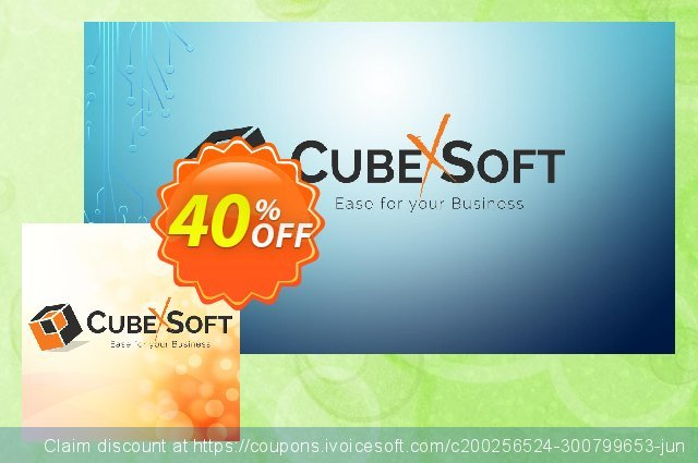CubexSoft DXL to PST - Personal License Special Offer discount 40% OFF, 2021 New Year offering sales