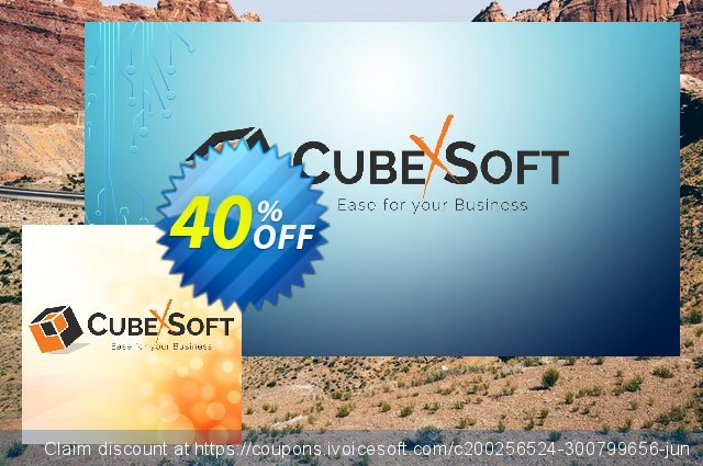 CubexSoft DXL to PST - Enterprise License Offer 特殊 产品销售 软件截图