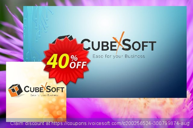 CubexSoft PST to EML - Personal License Special Offer  신기한   프로모션  스크린 샷