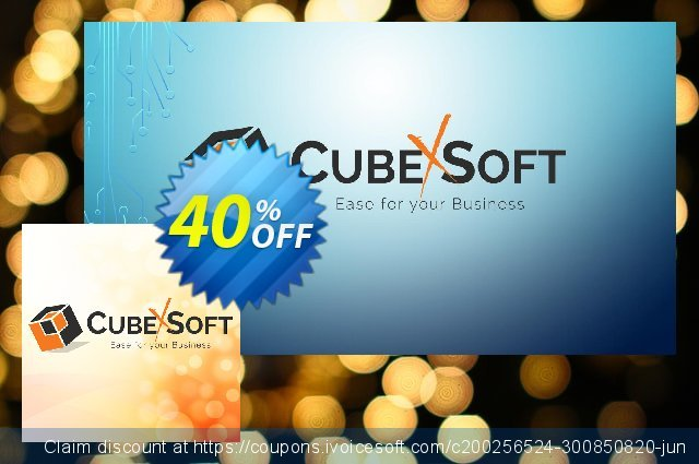 CubexSoft Office 365 Backup and Restore - Personal License - Special Offer  서늘해요   프로모션  스크린 샷