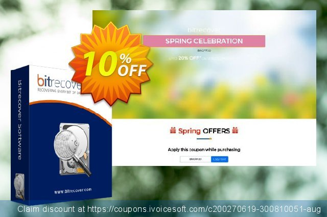 BitRecover Zimbra to Gmail Wizard - Personal Edition discount 10% OFF, 2020 Halloween offering sales